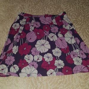 Pretty flower skirt (George brand, size XL: 16/18)